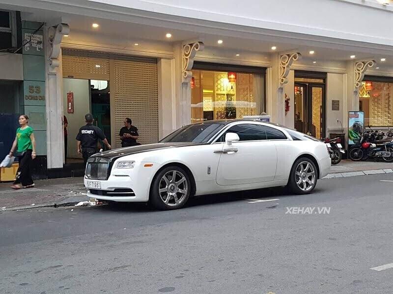 Rolls-Royce Wraith - xế cũ của của ông chủ Trung Nguyên xuống phố với phong cách Panda - Hình 10