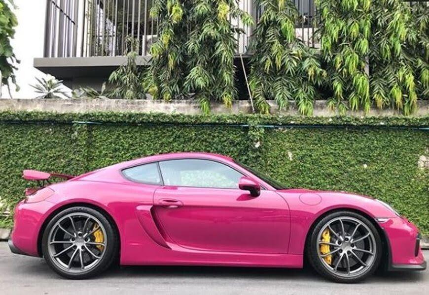 Ruby Star Porsche Cayman GT4 là một viên ngọc đẹp không tì vết ở Băng Cốc - Hình 1