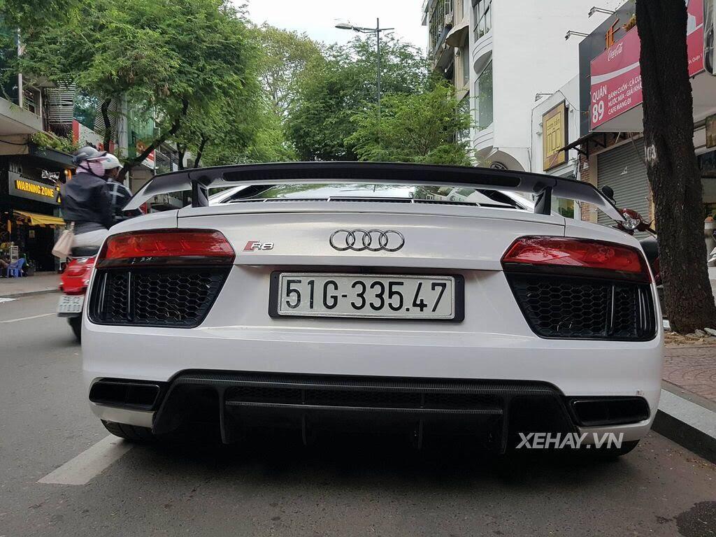 Sài Gòn: Audi R8 V10 Plus lặng lẽ xuất hiện trên phố - Hình 6