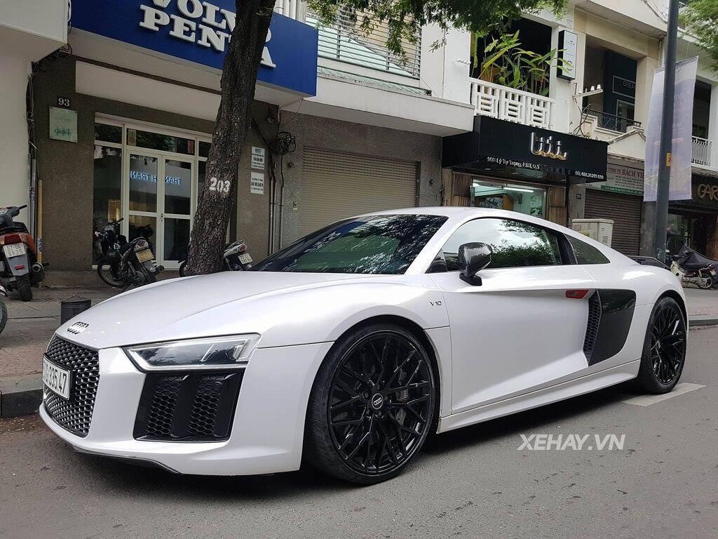 Sài Gòn: Audi R8 V10 Plus lặng lẽ xuất hiện trên phố - Hình 8