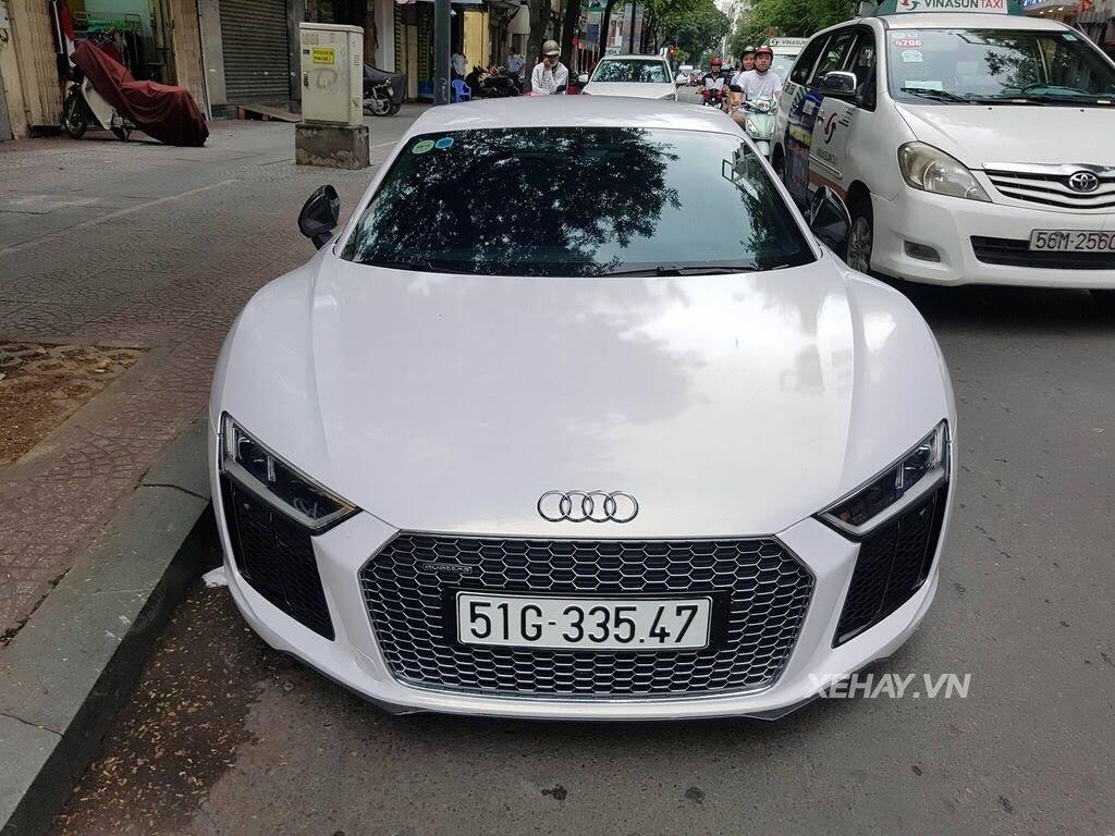Sài Gòn: Audi R8 V10 Plus lặng lẽ xuất hiện trên phố - Hình 9