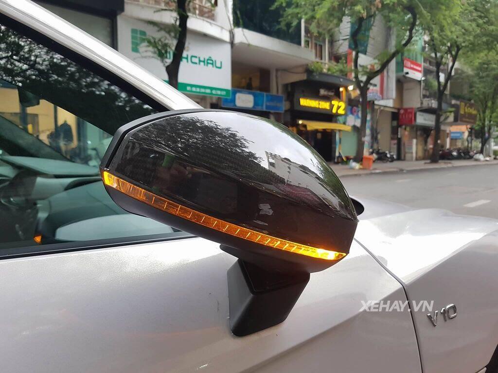 Sài Gòn: Audi R8 V10 Plus lặng lẽ xuất hiện trên phố - Hình 10