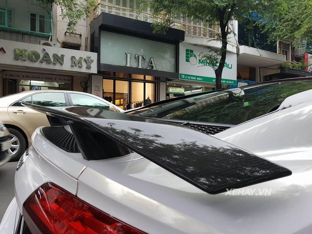 Sài Gòn: Audi R8 V10 Plus lặng lẽ xuất hiện trên phố - Hình 11