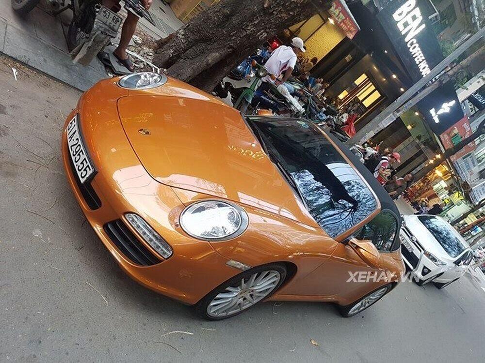 Sài Gòn: Bắt gặp Porsche 911 Carrera Cabriolet dạo phố ngày cuối tuần - Hình 8