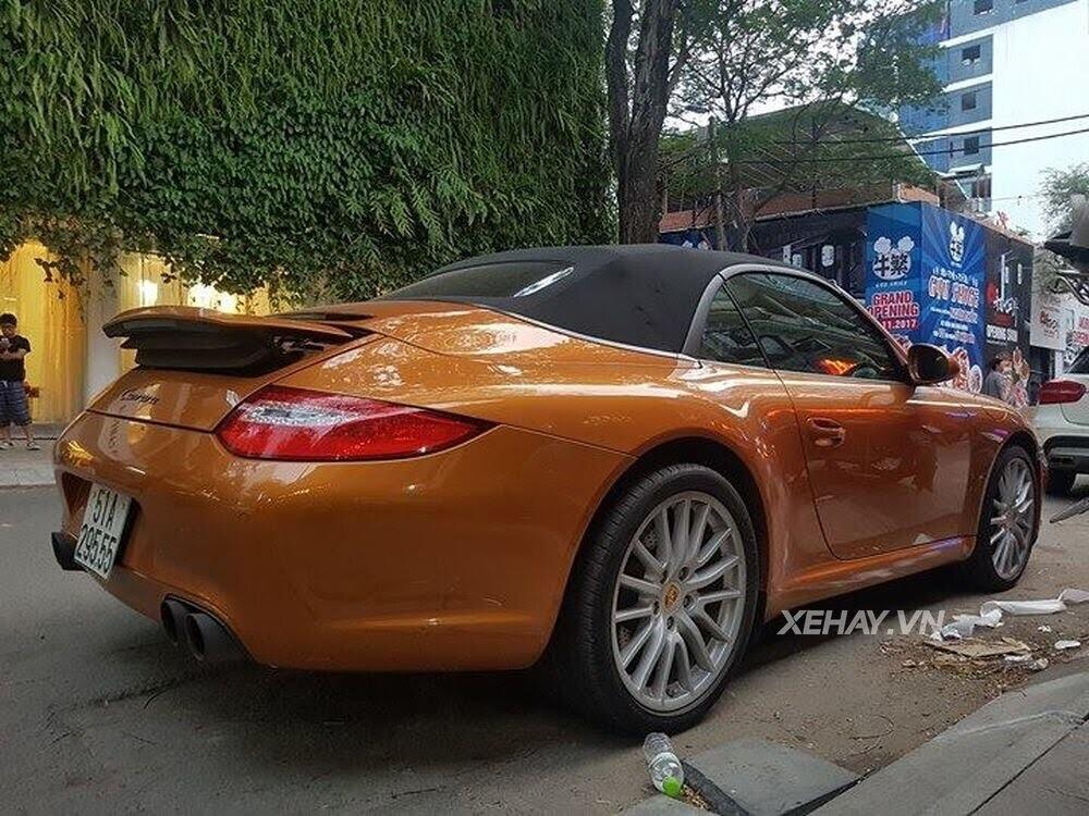 Sài Gòn: Bắt gặp Porsche 911 Carrera Cabriolet dạo phố ngày cuối tuần - Hình 9