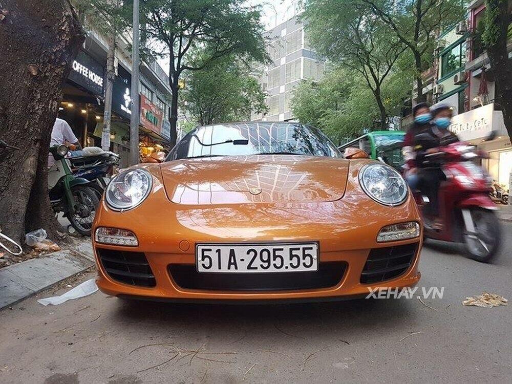 Sài Gòn: Bắt gặp Porsche 911 Carrera Cabriolet dạo phố ngày cuối tuần - Hình 10
