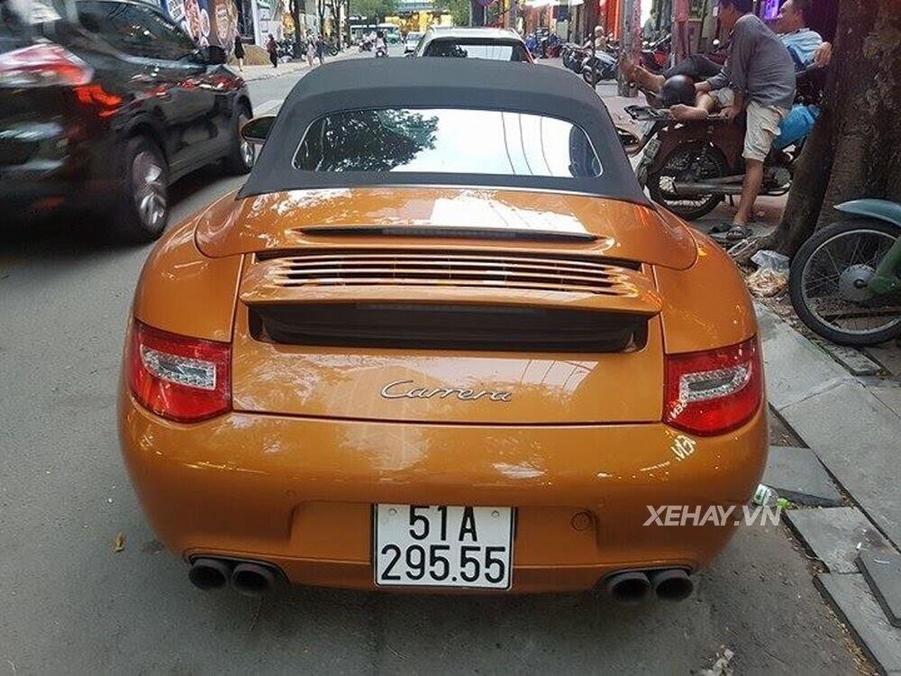 Sài Gòn: Bắt gặp Porsche 911 Carrera Cabriolet dạo phố ngày cuối tuần - Hình 14