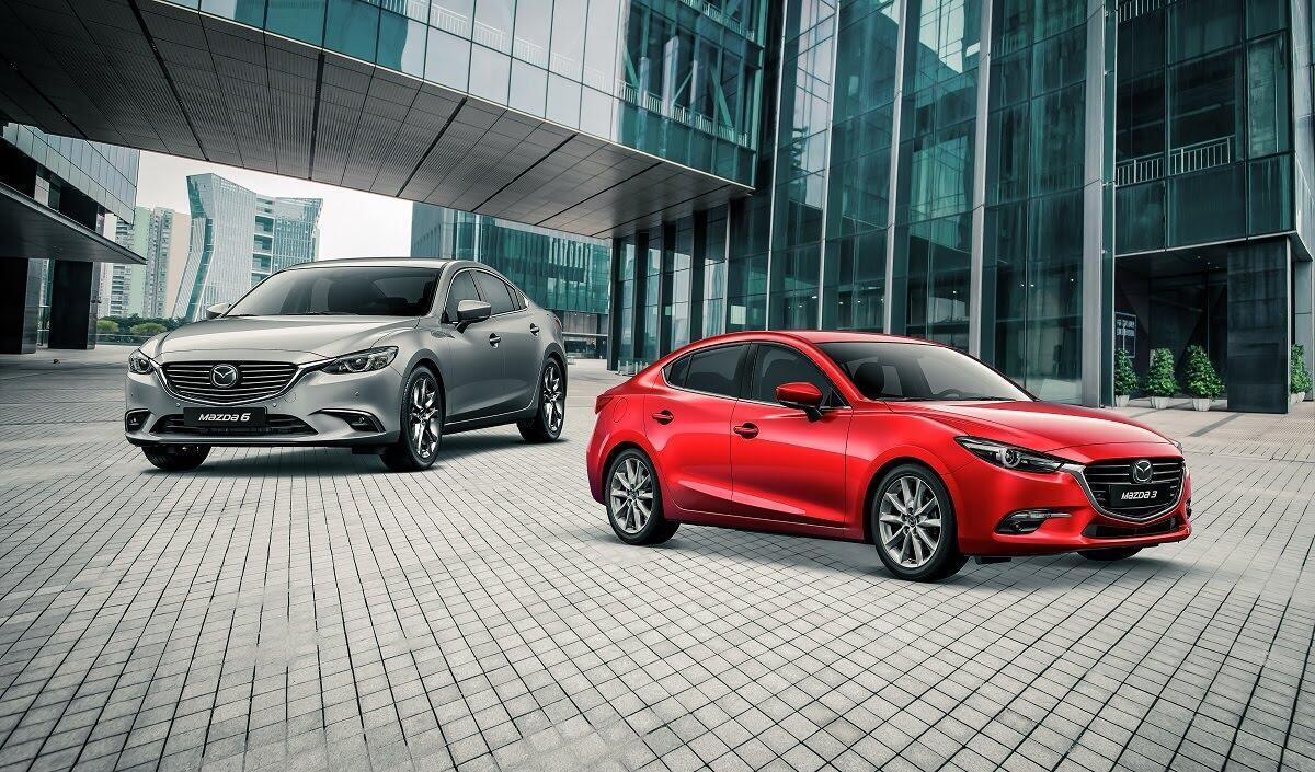 Sau CX-5, Mazda 3 và Mazda 6 cũng giảm giá khủng trước tháng ngâu - Hình 1