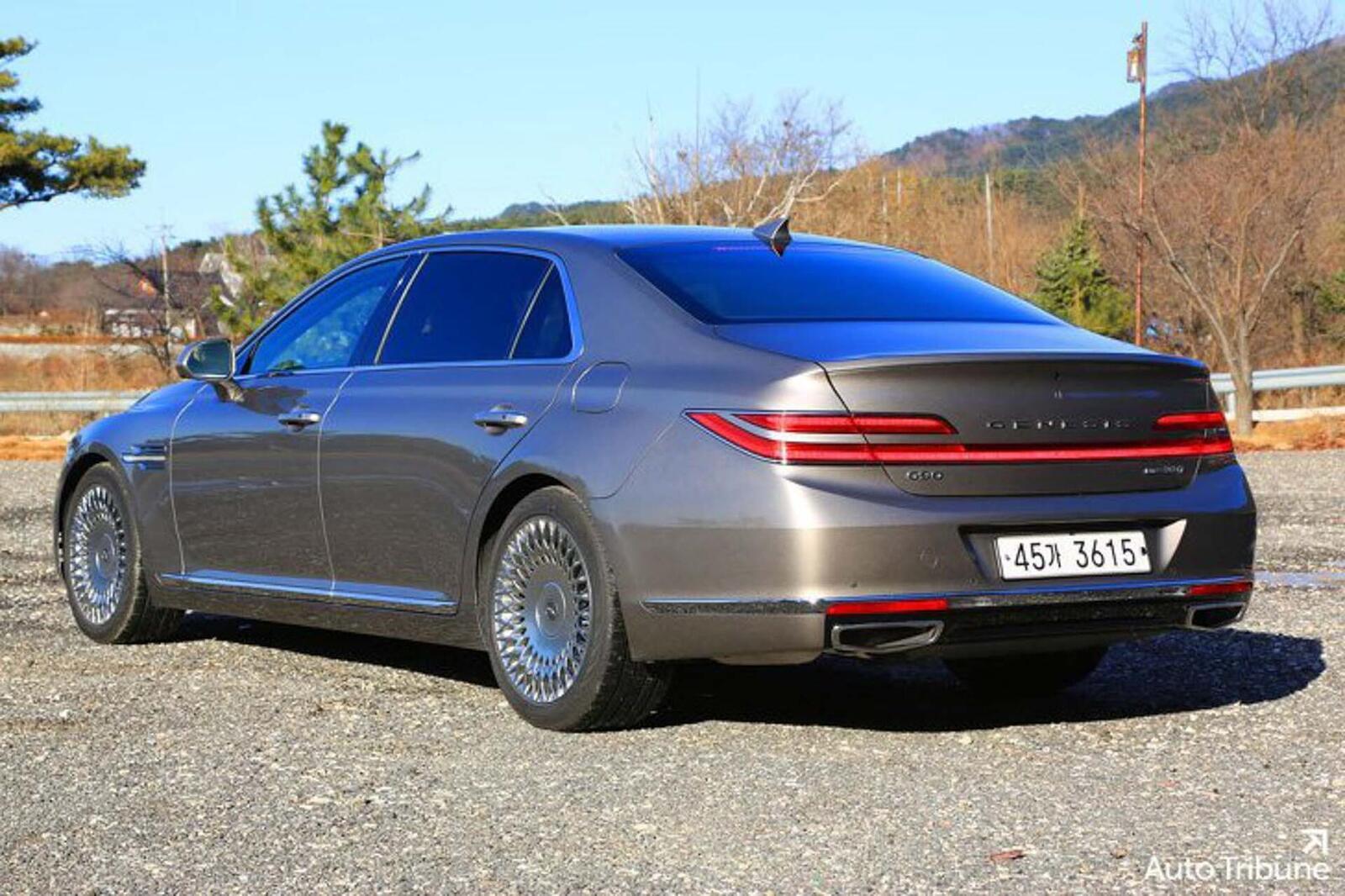 Sedan hạng sang Genesis G90 2020 mới ra mắt cuối tháng 11/2018 lộ ảnh cực nóng - Hình 6