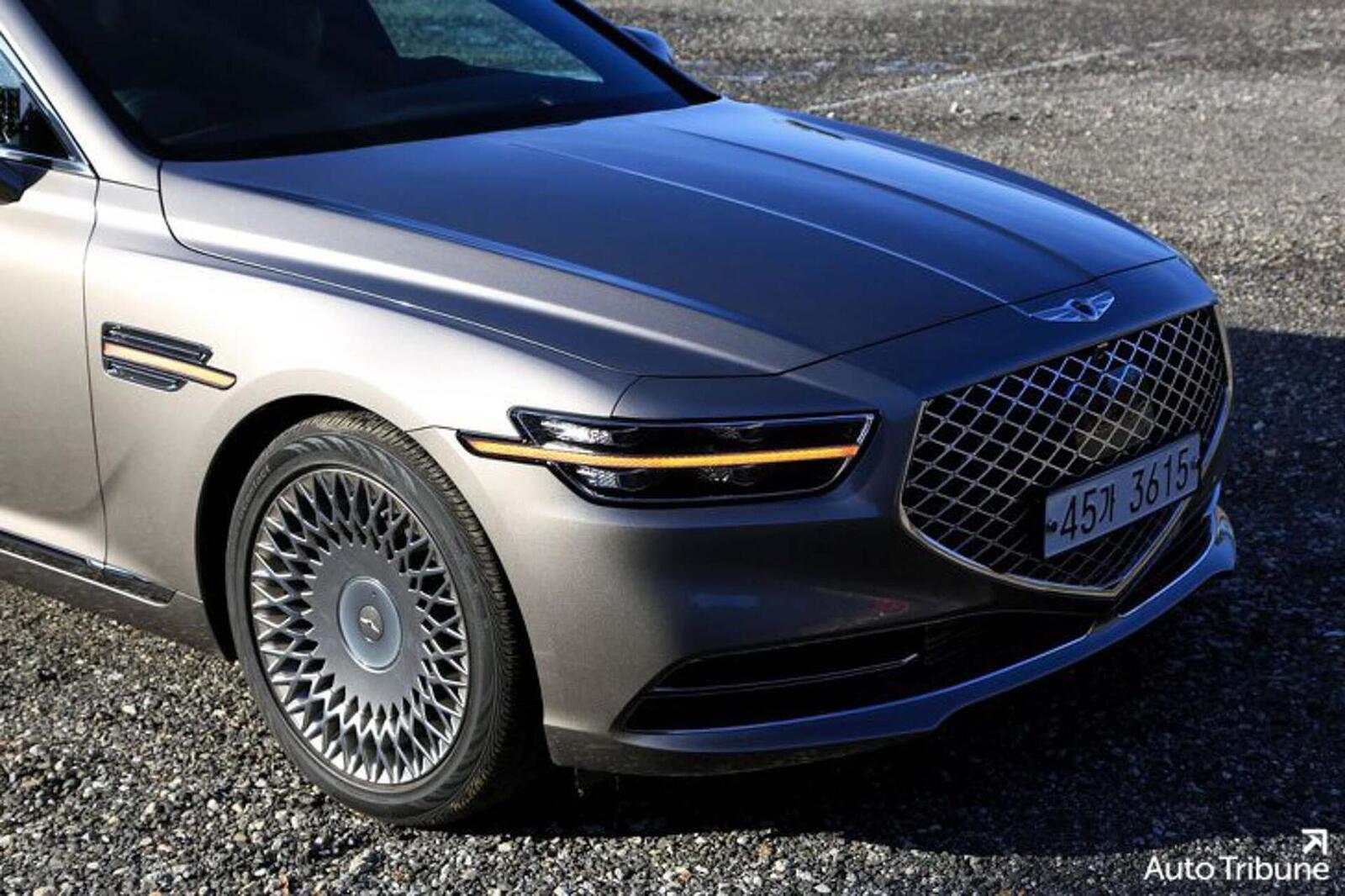 Sedan hạng sang Genesis G90 2020 mới ra mắt cuối tháng 11/2018 lộ ảnh cực nóng - Hình 7