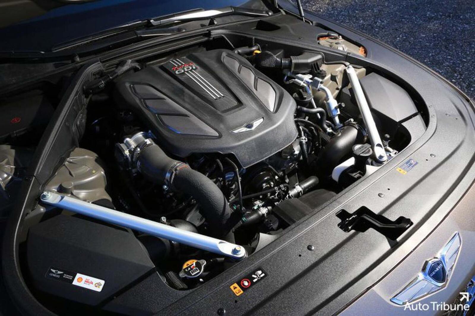 Sedan hạng sang Genesis G90 2020 mới ra mắt cuối tháng 11/2018 lộ ảnh cực nóng - Hình 9