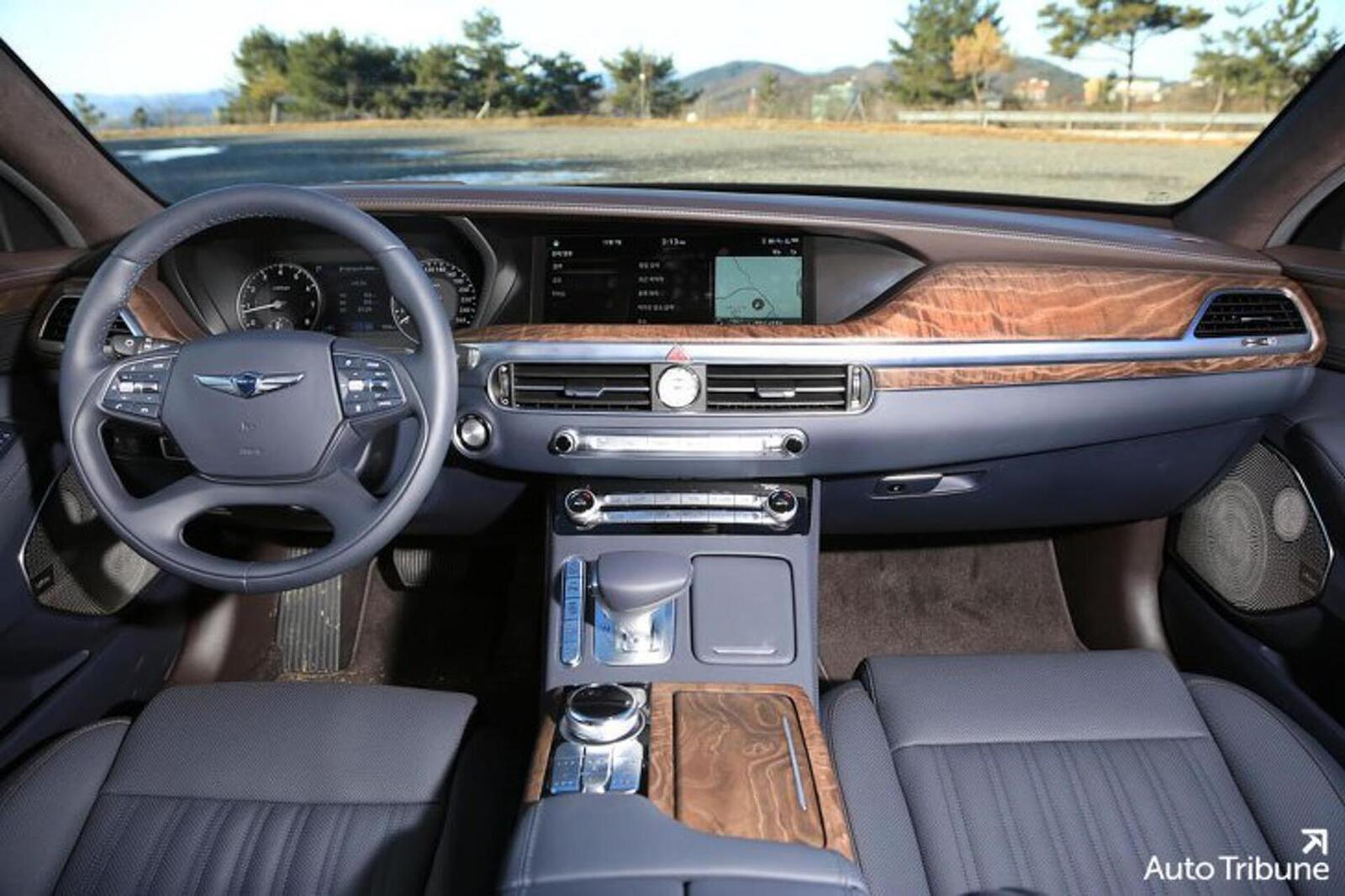 Sedan hạng sang Genesis G90 2020 mới ra mắt cuối tháng 11/2018 lộ ảnh cực nóng - Hình 11