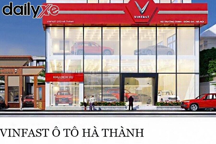 Showroom Vinfast Ô tô Hà Thành tại 162 Trường Chinh,Đống Đa,Hà Nội