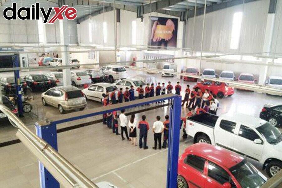 Xưởng sửa chữa Vinfast ô tô Hà Thành