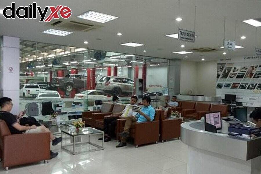 Phòng dịch vụ tại Vinfast ô tô Hà Thành