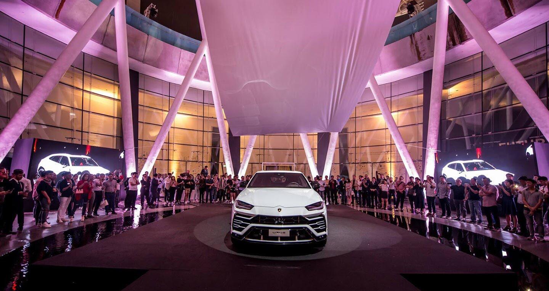 Siêu SUV Lamborghini Urus ra mắt thị trường châu Á - Hình 1