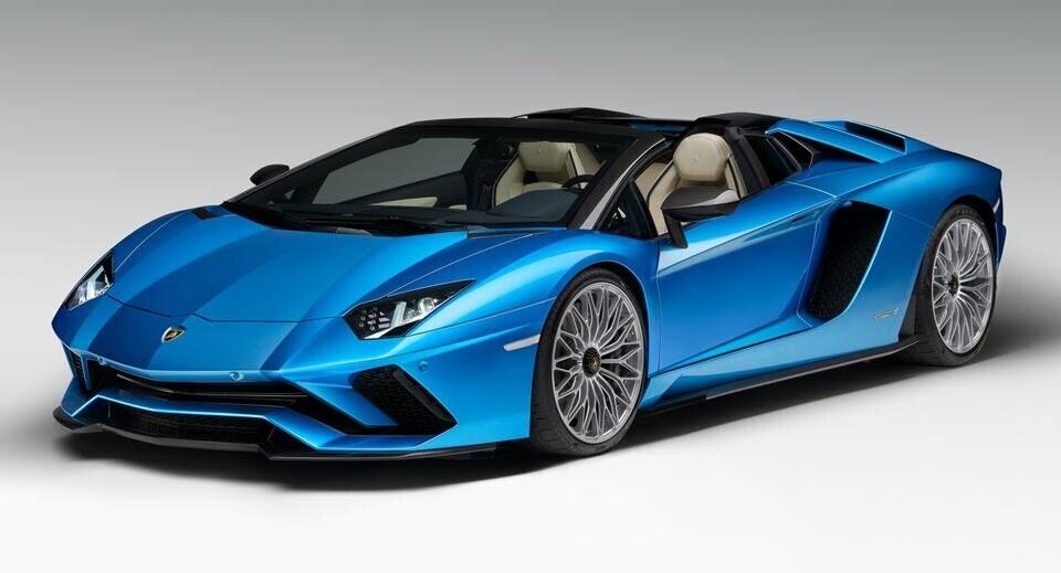 Siêu xe Lamborghini Aventador S Roadster chính thức trình làng - Hình 1