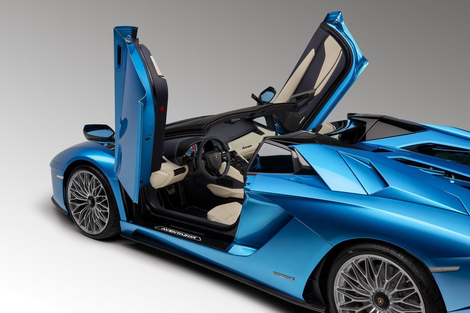Siêu xe Lamborghini Aventador S Roadster chính thức trình làng - Hình 2