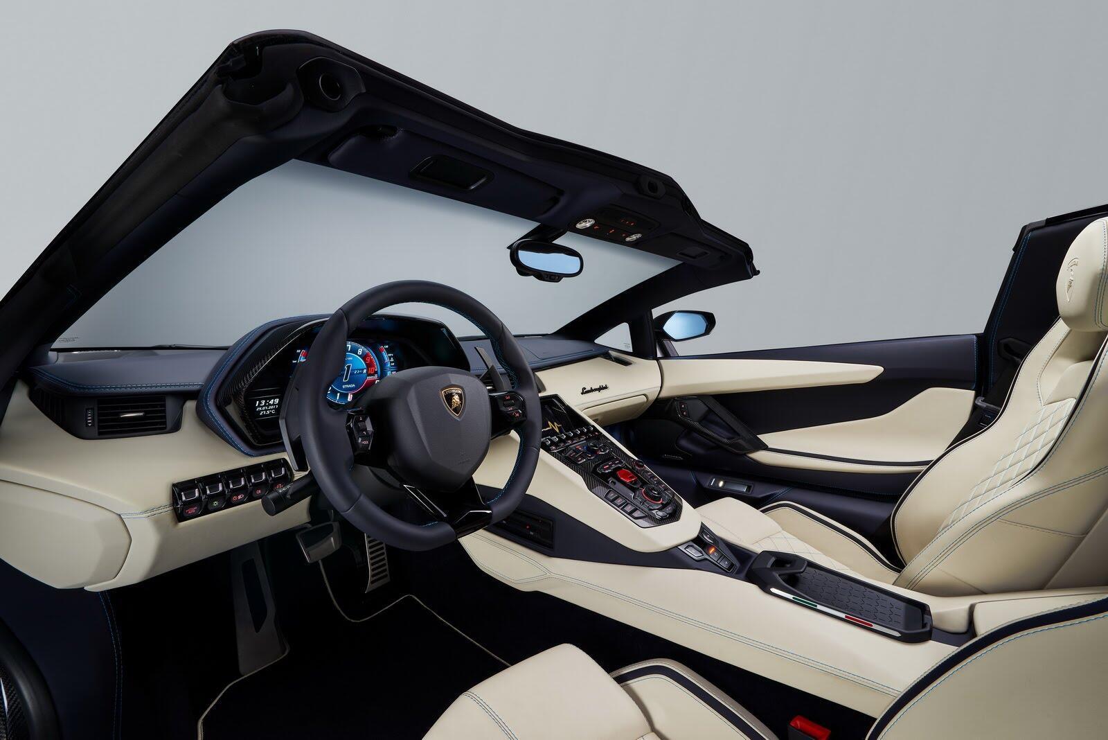 Siêu xe Lamborghini Aventador S Roadster chính thức trình làng - Hình 9