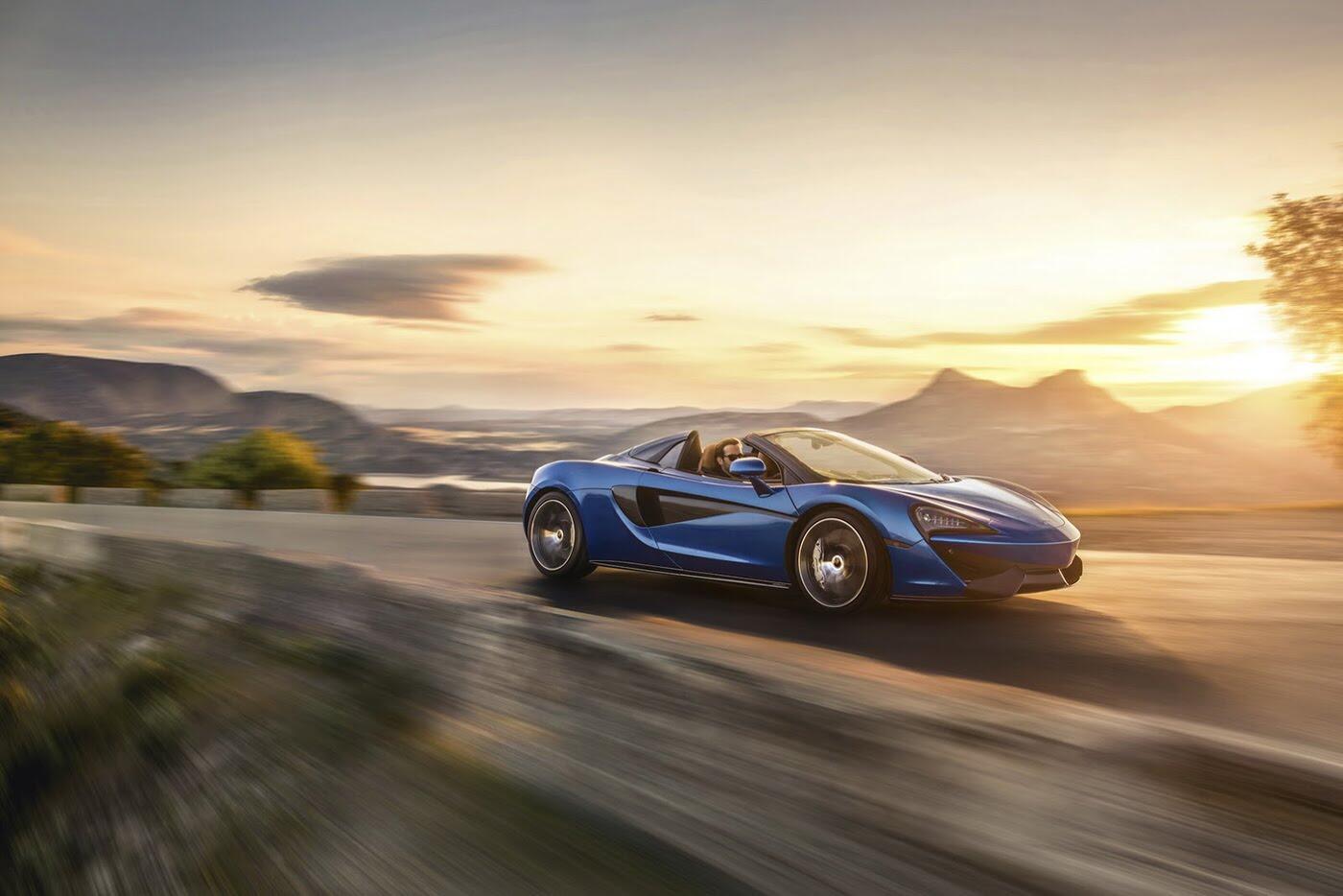 Siêu xe McLaren 570S Spider sắp ra mắt - Hình 1