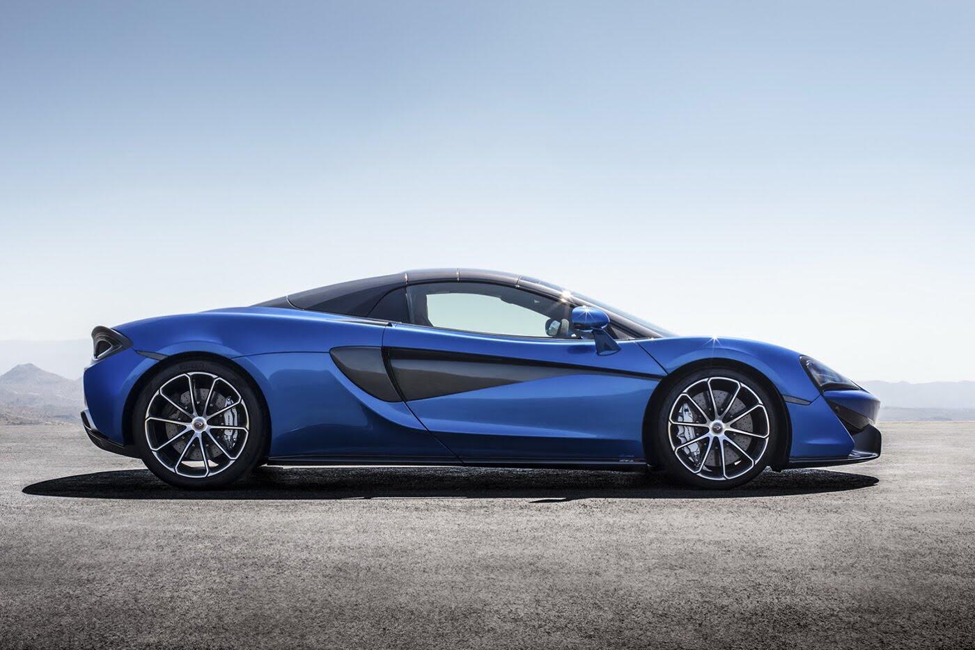 Siêu xe McLaren 570S Spider sắp ra mắt - Hình 2