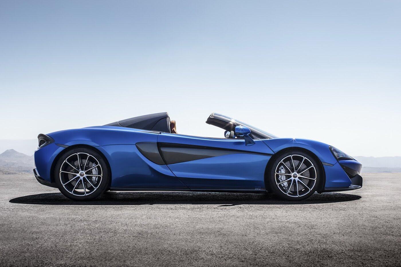 Siêu xe McLaren 570S Spider sắp ra mắt - Hình 3