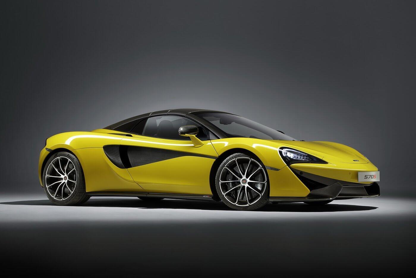 Siêu xe McLaren 570S Spider sắp ra mắt - Hình 8