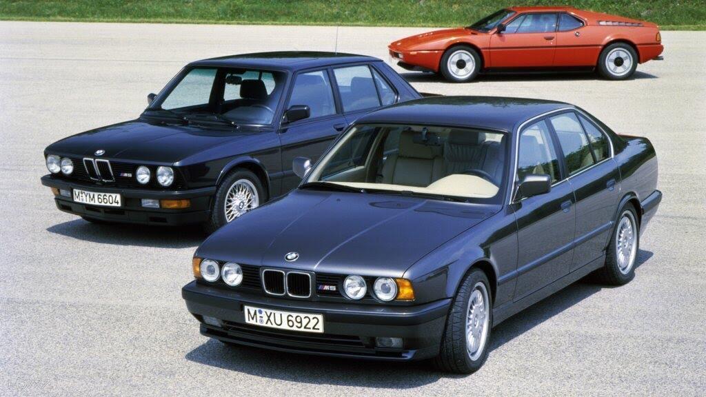 Sơ lược lịch sử của BMW M5 - Hình 1
