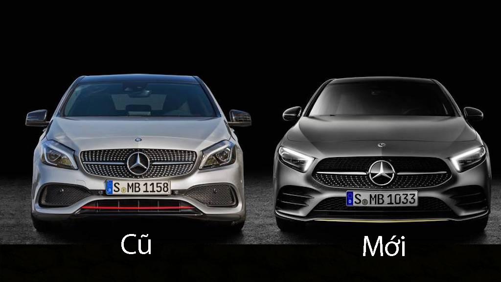 So sánh sự khác biệt giữa Mercedes-Benz A-Class mới và cũ - Hình 1