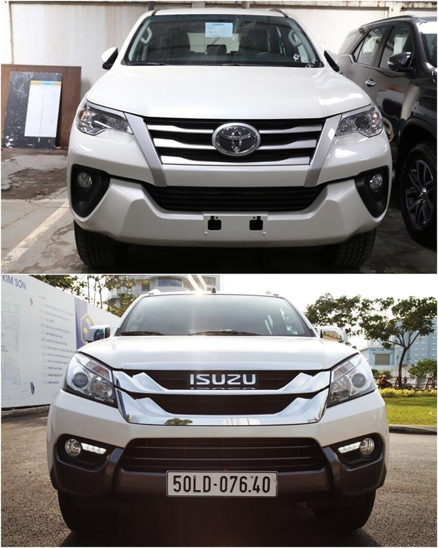 So sánh Toyota Fortuner 2017 và Isuzu mu-X: chọn SUV 7 chỗ Diesel nào với 1 tỷ đồng? - Hình 2