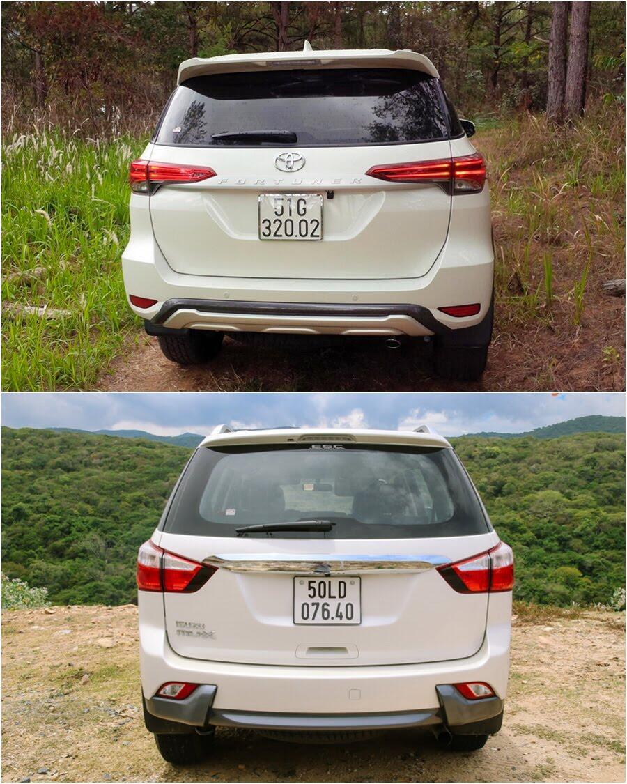So sánh Toyota Fortuner 2017 và Isuzu mu-X: chọn SUV 7 chỗ Diesel nào với 1 tỷ đồng? - Hình 4