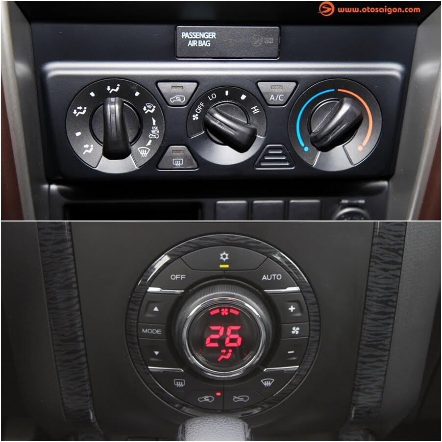 So sánh Toyota Fortuner 2017 và Isuzu mu-X: chọn SUV 7 chỗ Diesel nào với 1 tỷ đồng? - Hình 11