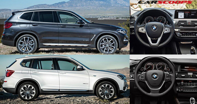 So sánh trực quan BMW X3 2018 và phiên bản tiền nhiệm - Hình 1