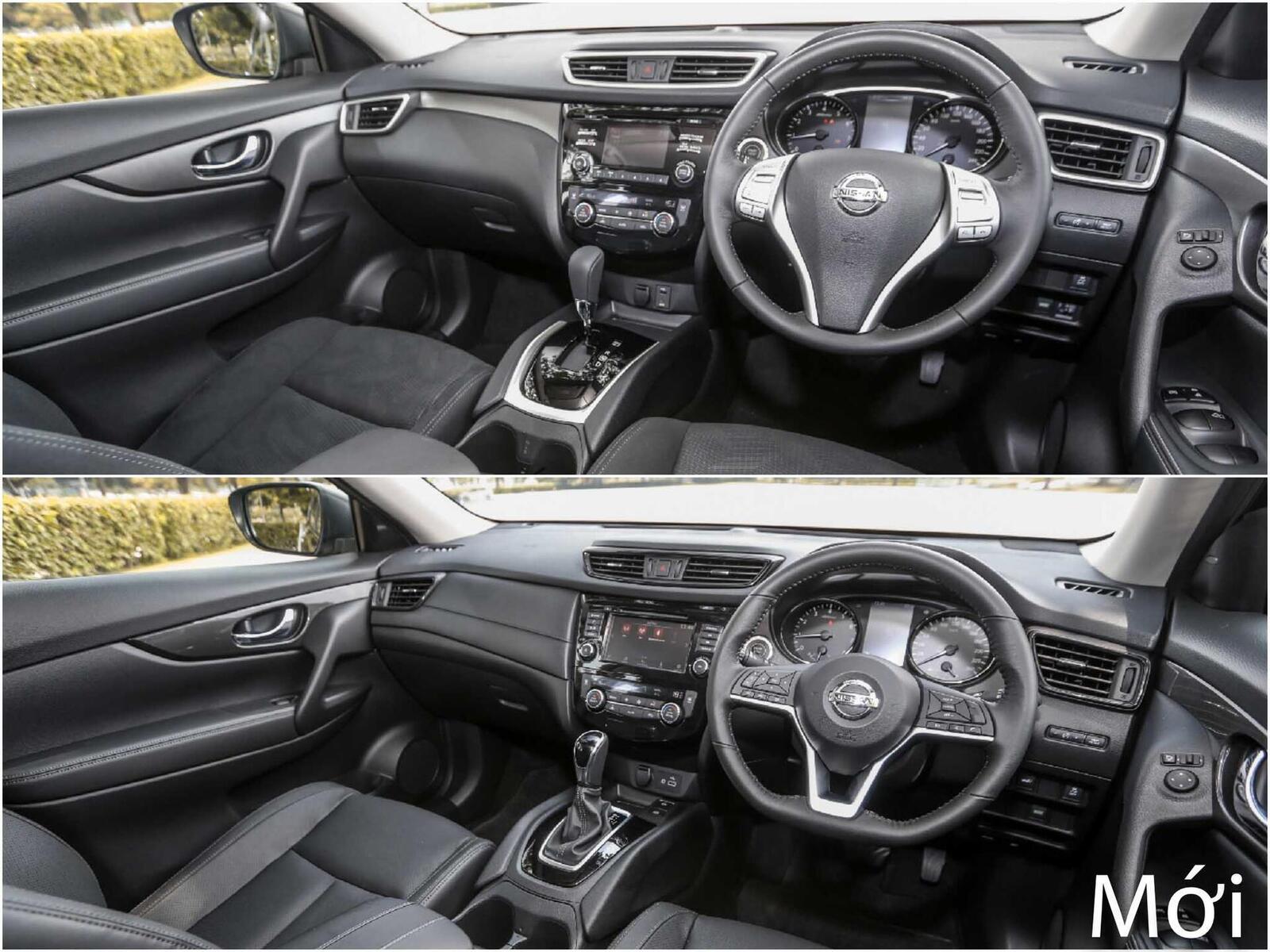 Sự khác biệt giữa Nissan X-Trail phiên bản nâng cấp facelift mới và cũ - Hình 10