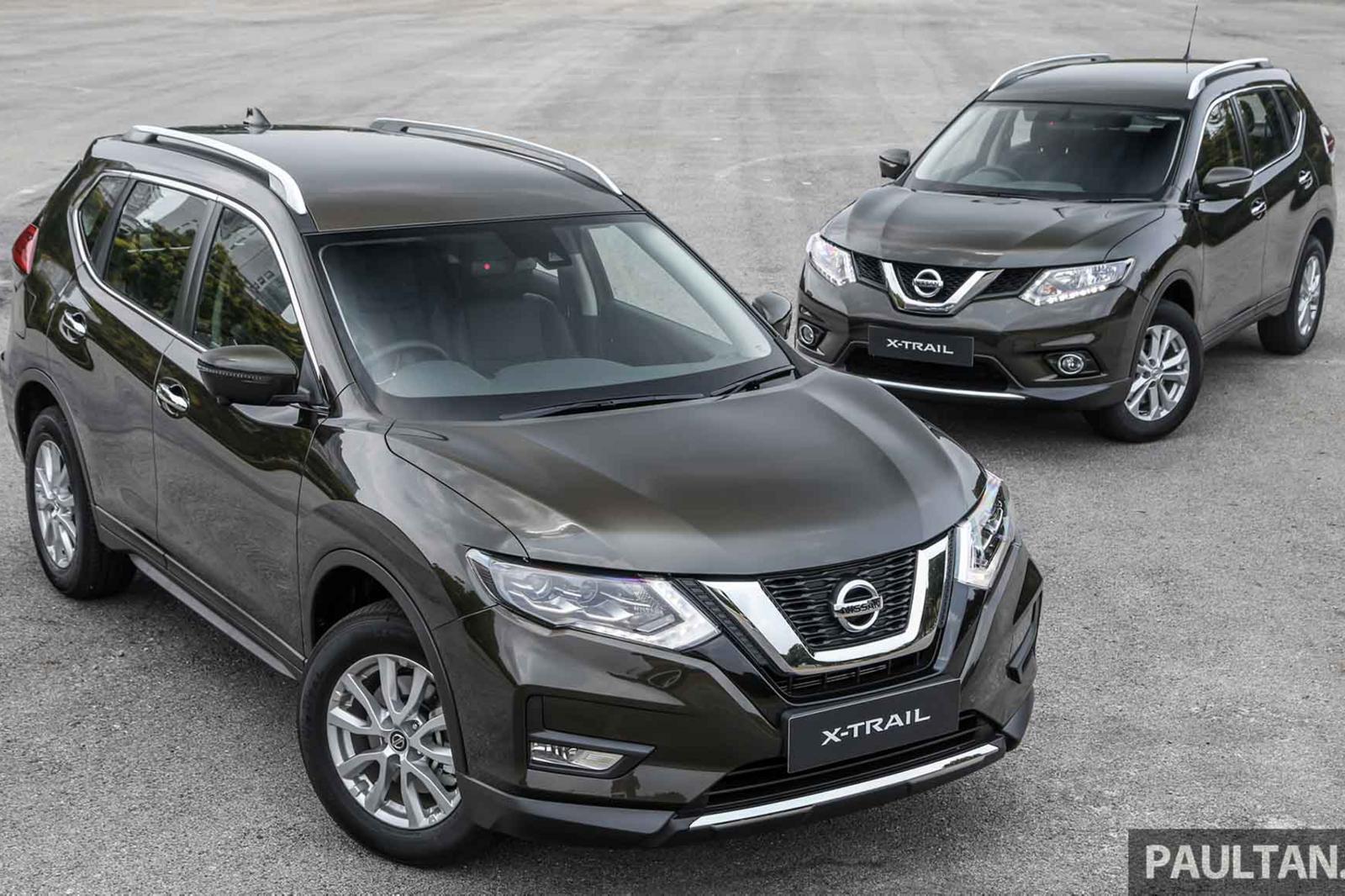 Sự khác biệt giữa Nissan X-Trail phiên bản nâng cấp facelift mới và cũ - Hình 2