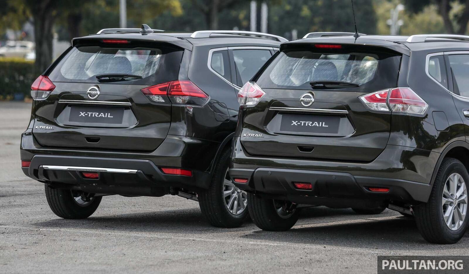 Sự khác biệt giữa Nissan X-Trail phiên bản nâng cấp facelift mới và cũ - Hình 4