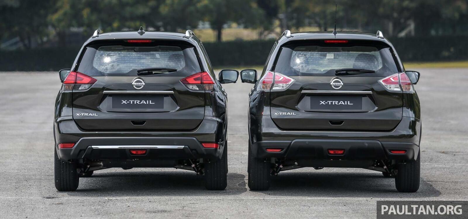 Sự khác biệt giữa Nissan X-Trail phiên bản nâng cấp facelift mới và cũ - Hình 5