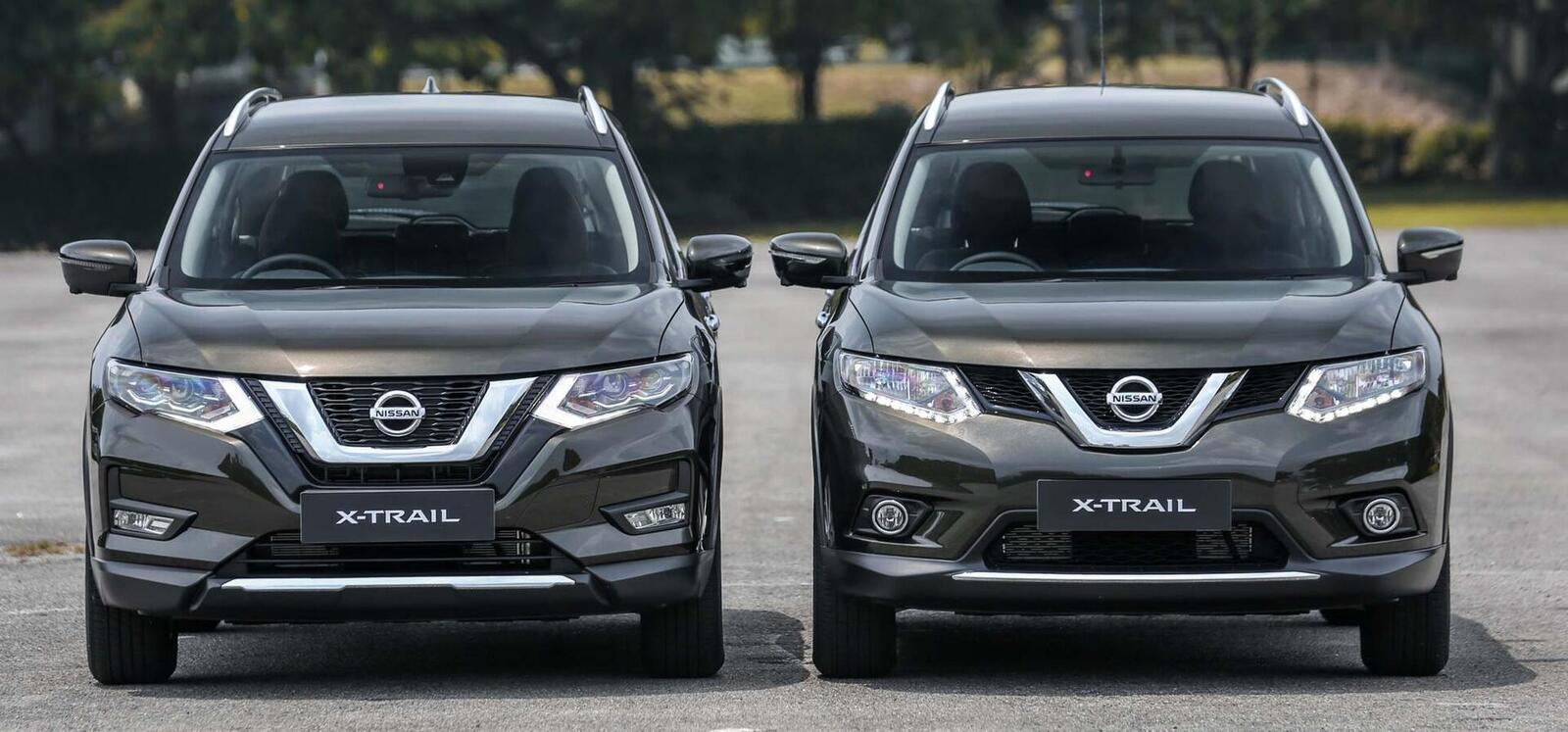 Sự khác biệt giữa Nissan X-Trail phiên bản nâng cấp facelift mới và cũ - Hình 8