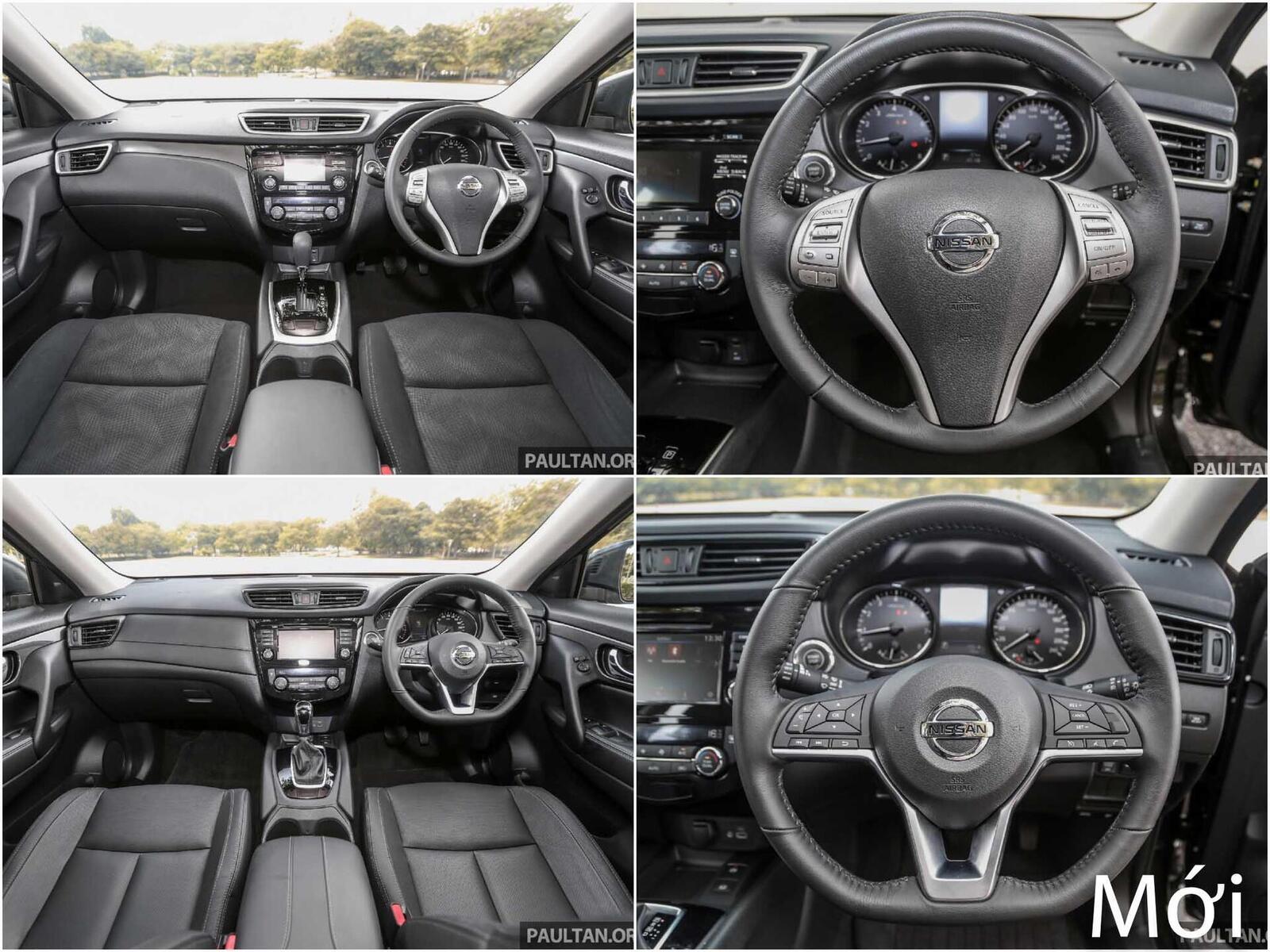 Sự khác biệt giữa Nissan X-Trail phiên bản nâng cấp facelift mới và cũ - Hình 9