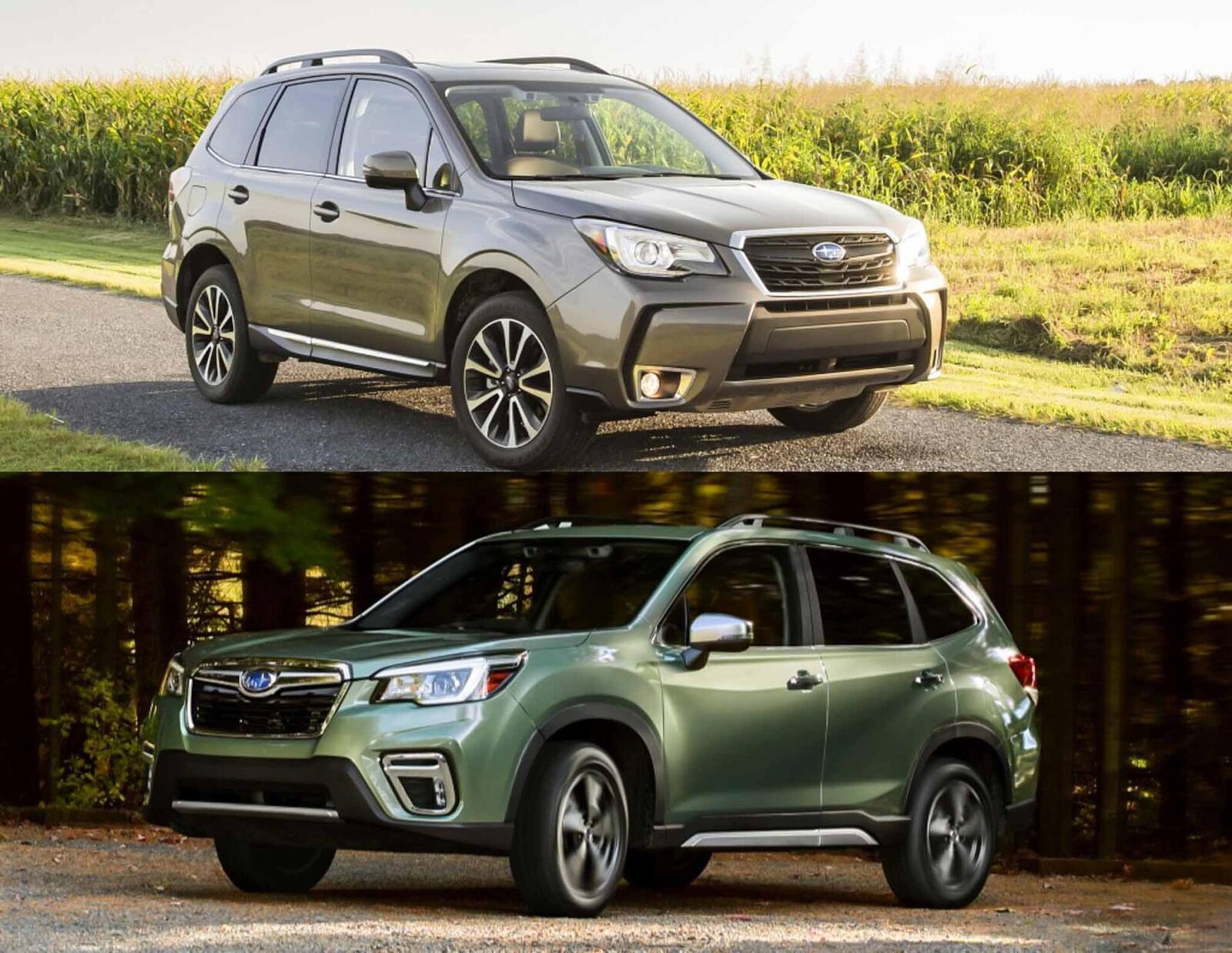 Sự khác biệt giữa Subaru Forester thế hệ mới và cũ - Hình 1