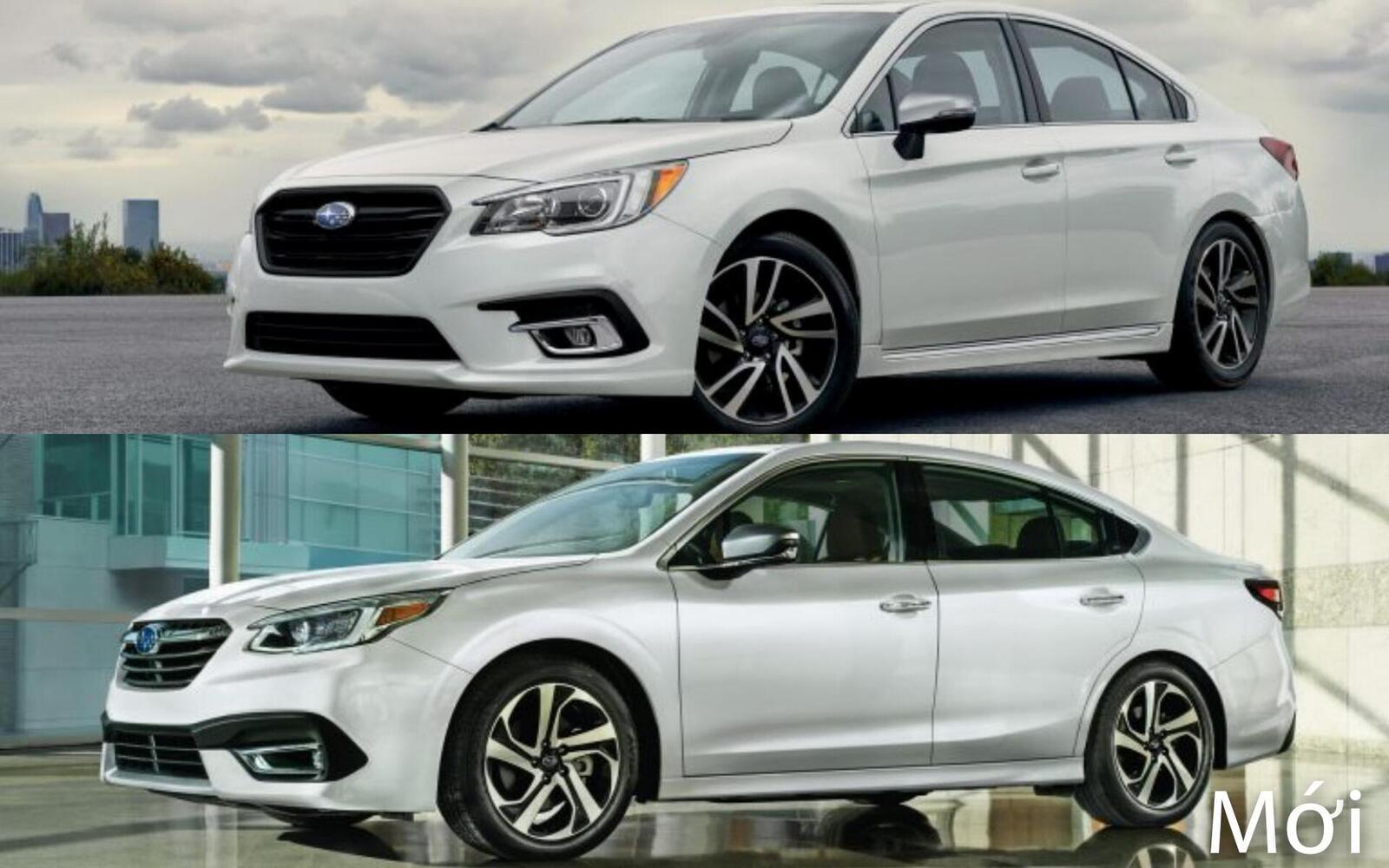 Sự khác biệt giữa Subaru Legacy thế hệ cũ và mới - Hình 2