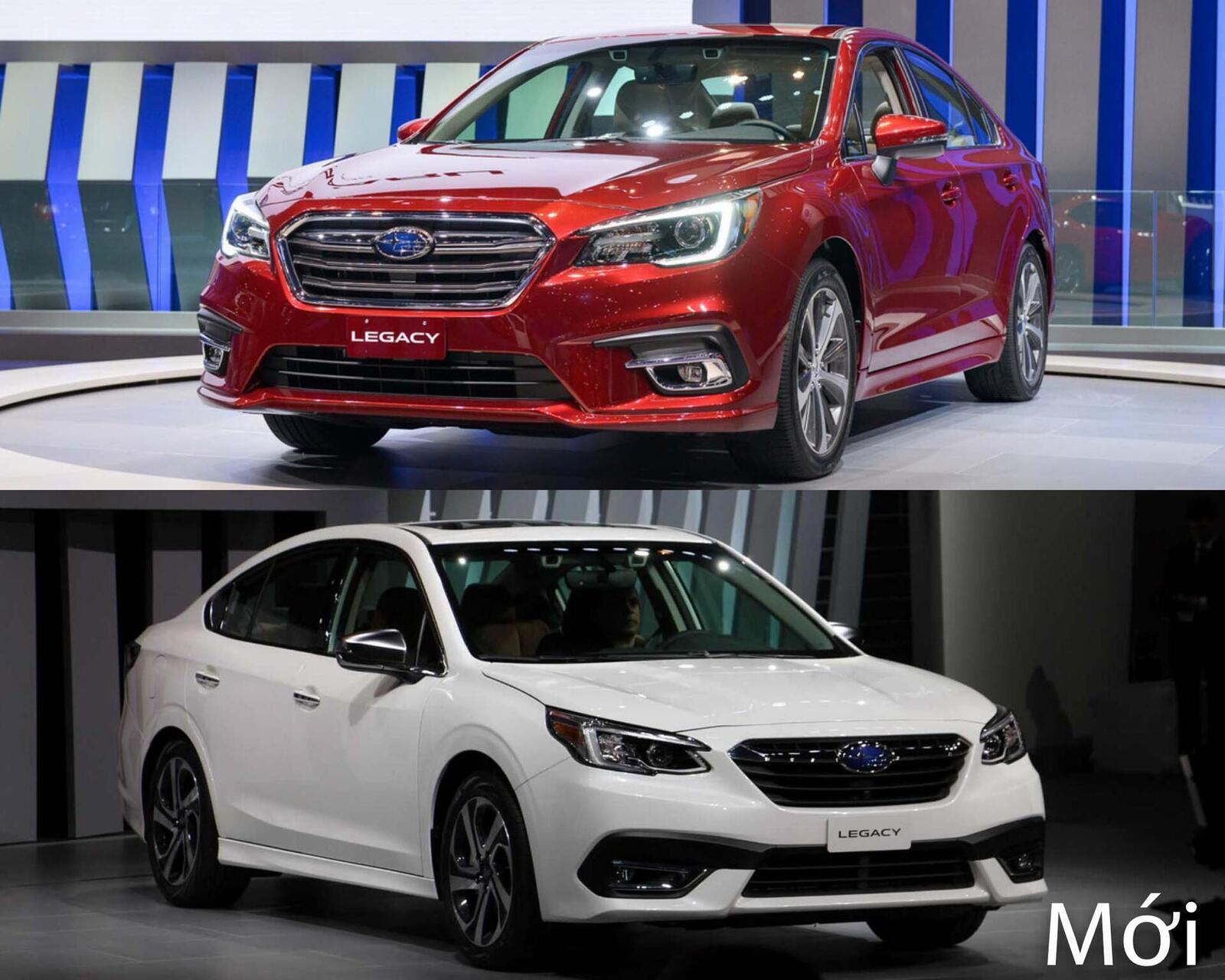 Sự khác biệt giữa Subaru Legacy thế hệ cũ và mới - Hình 3