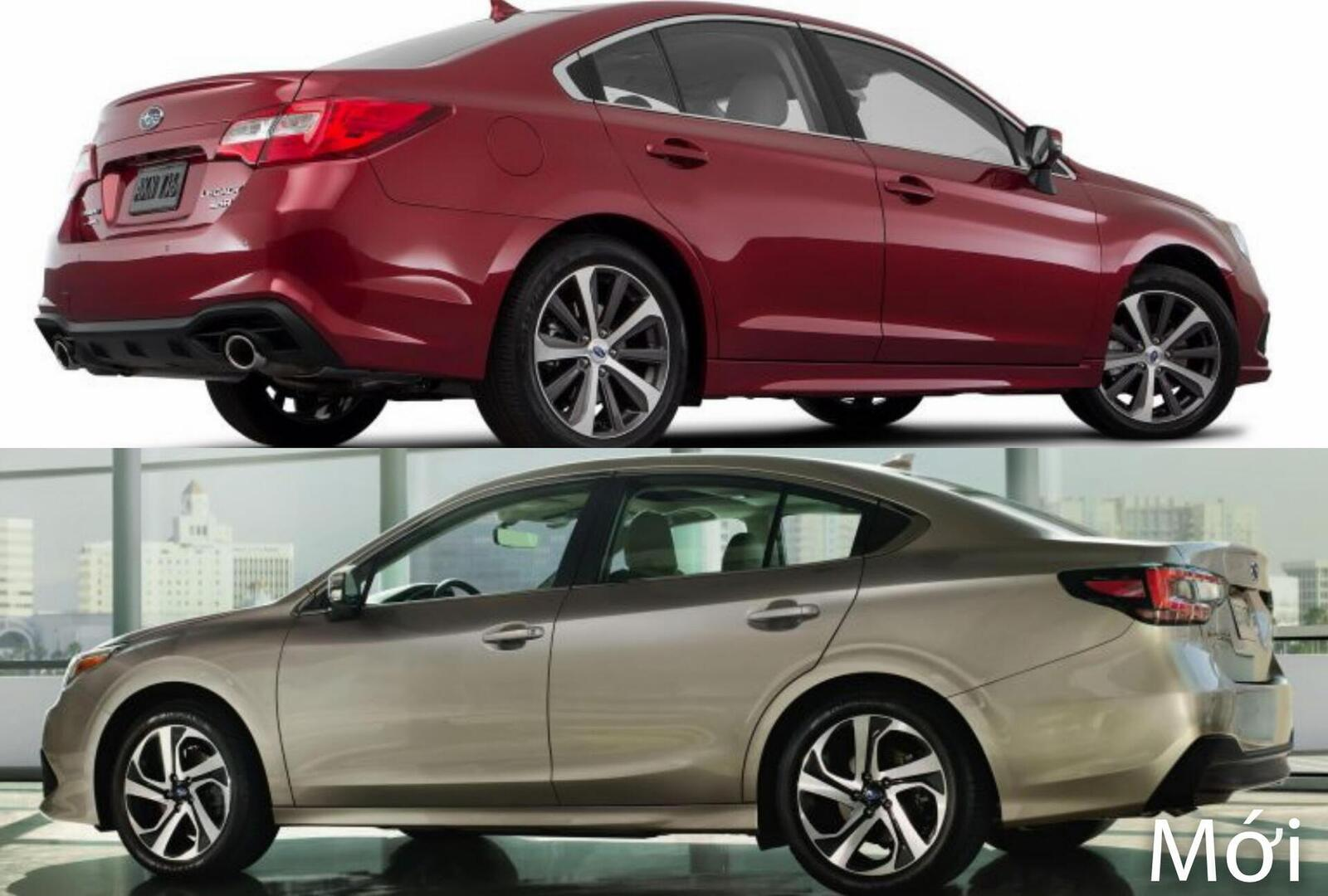 Sự khác biệt giữa Subaru Legacy thế hệ cũ và mới - Hình 4