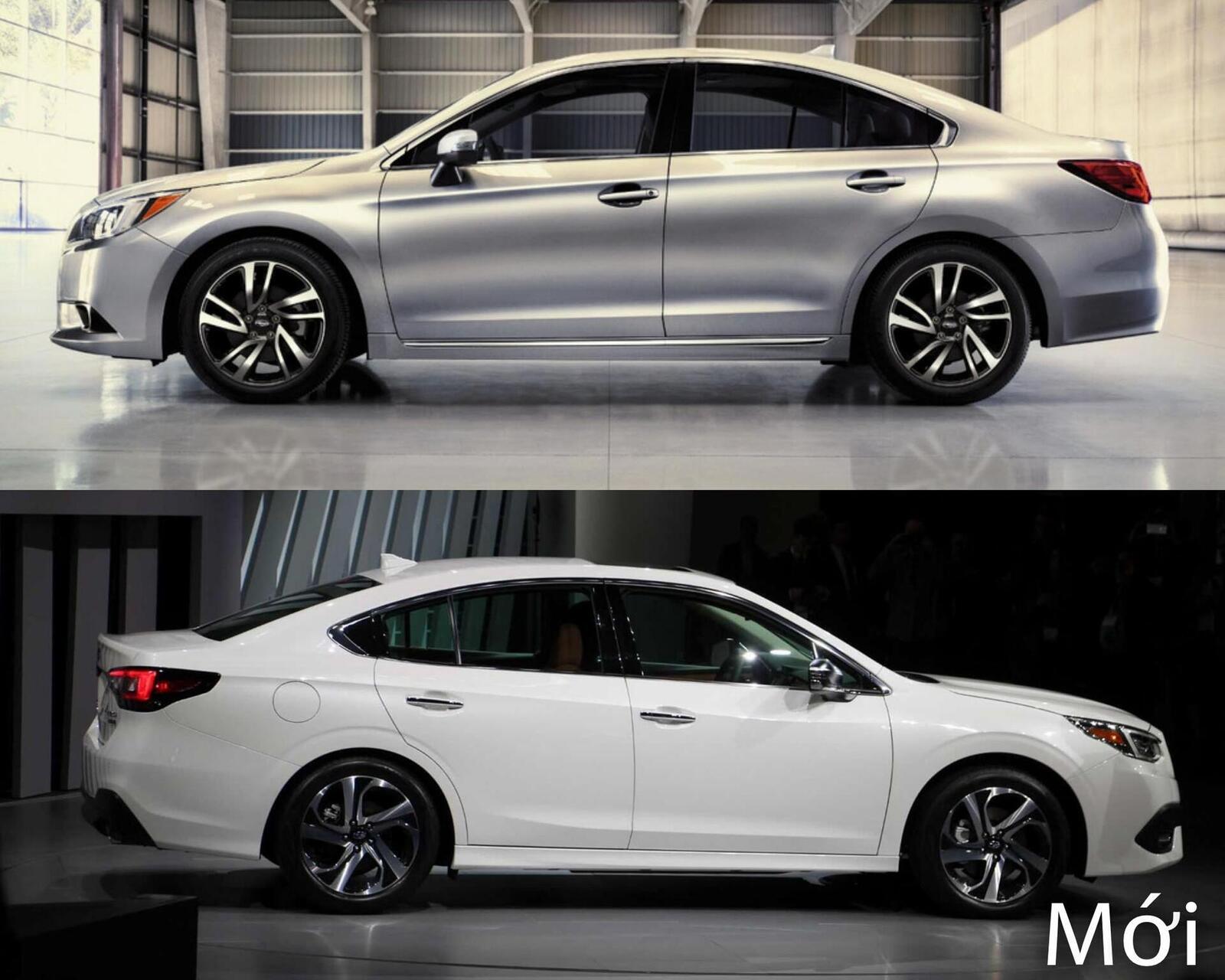 Sự khác biệt giữa Subaru Legacy thế hệ cũ và mới - Hình 5