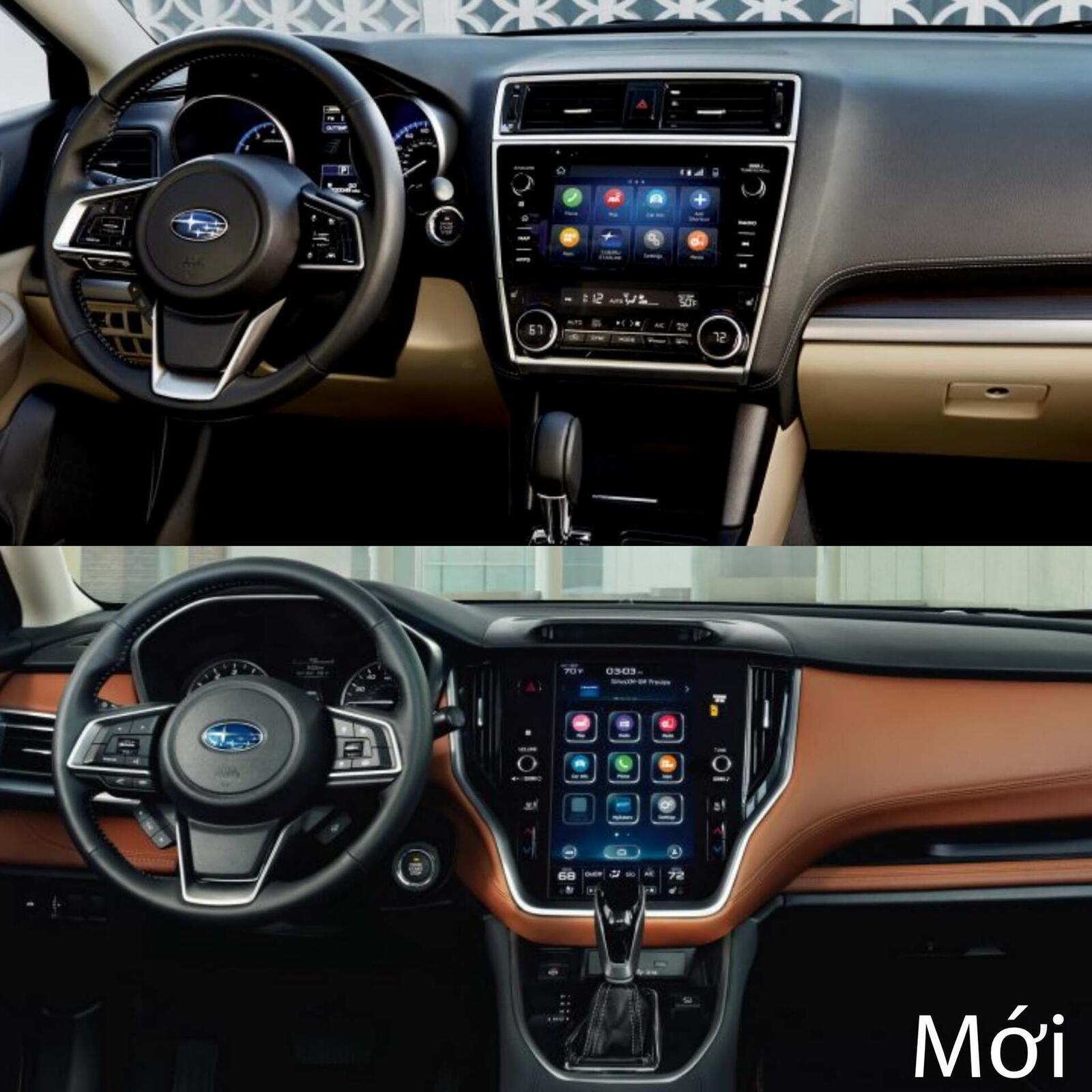 Sự khác biệt giữa Subaru Legacy thế hệ cũ và mới - Hình 7