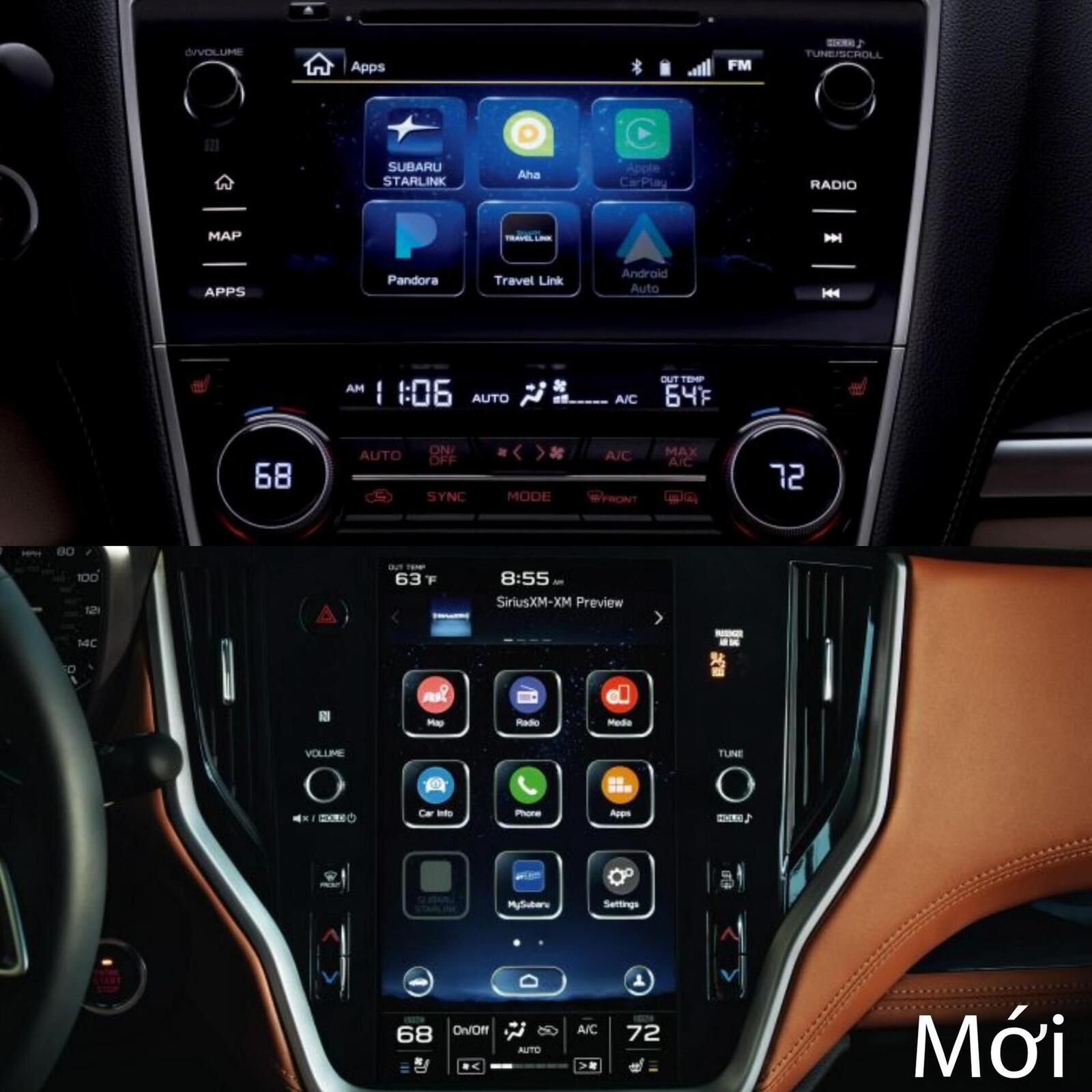 Sự khác biệt giữa Subaru Legacy thế hệ cũ và mới - Hình 8