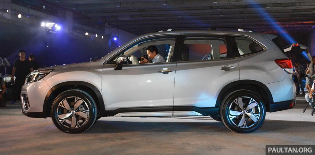 Subaru Forester 2019 ra mắt tại châu Á, chưa công bố giá bán - Hình 4