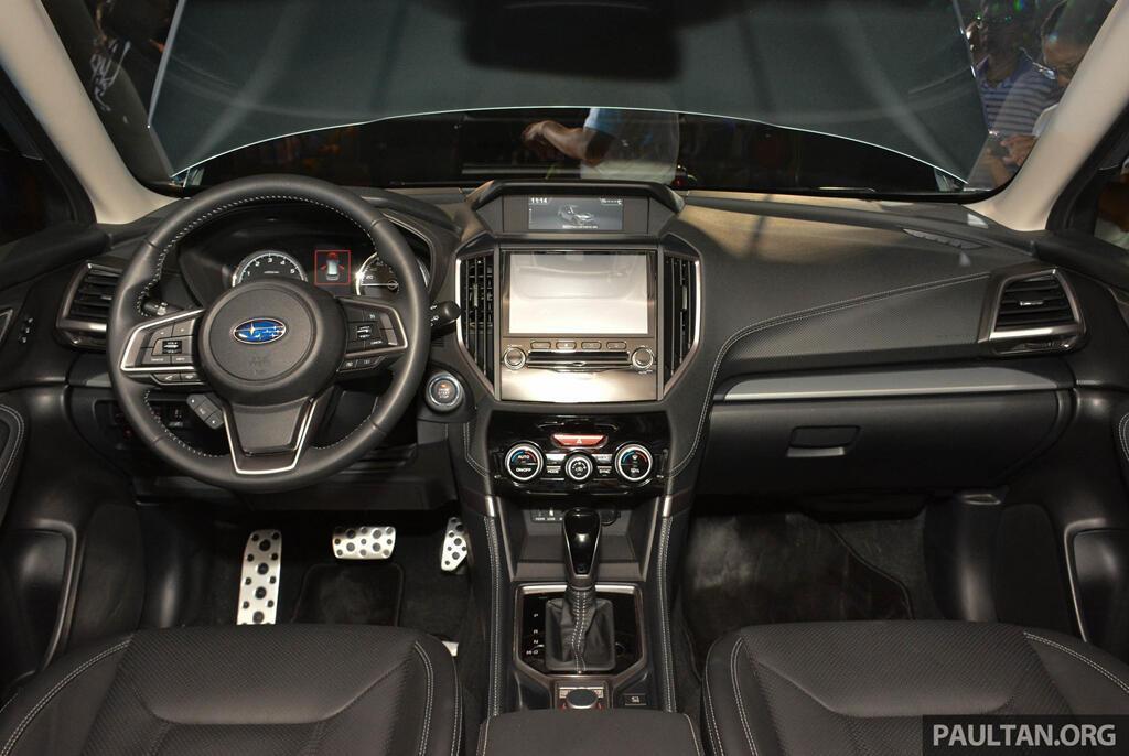 Subaru Forester 2019 ra mắt tại châu Á, chưa công bố giá bán - Hình 8