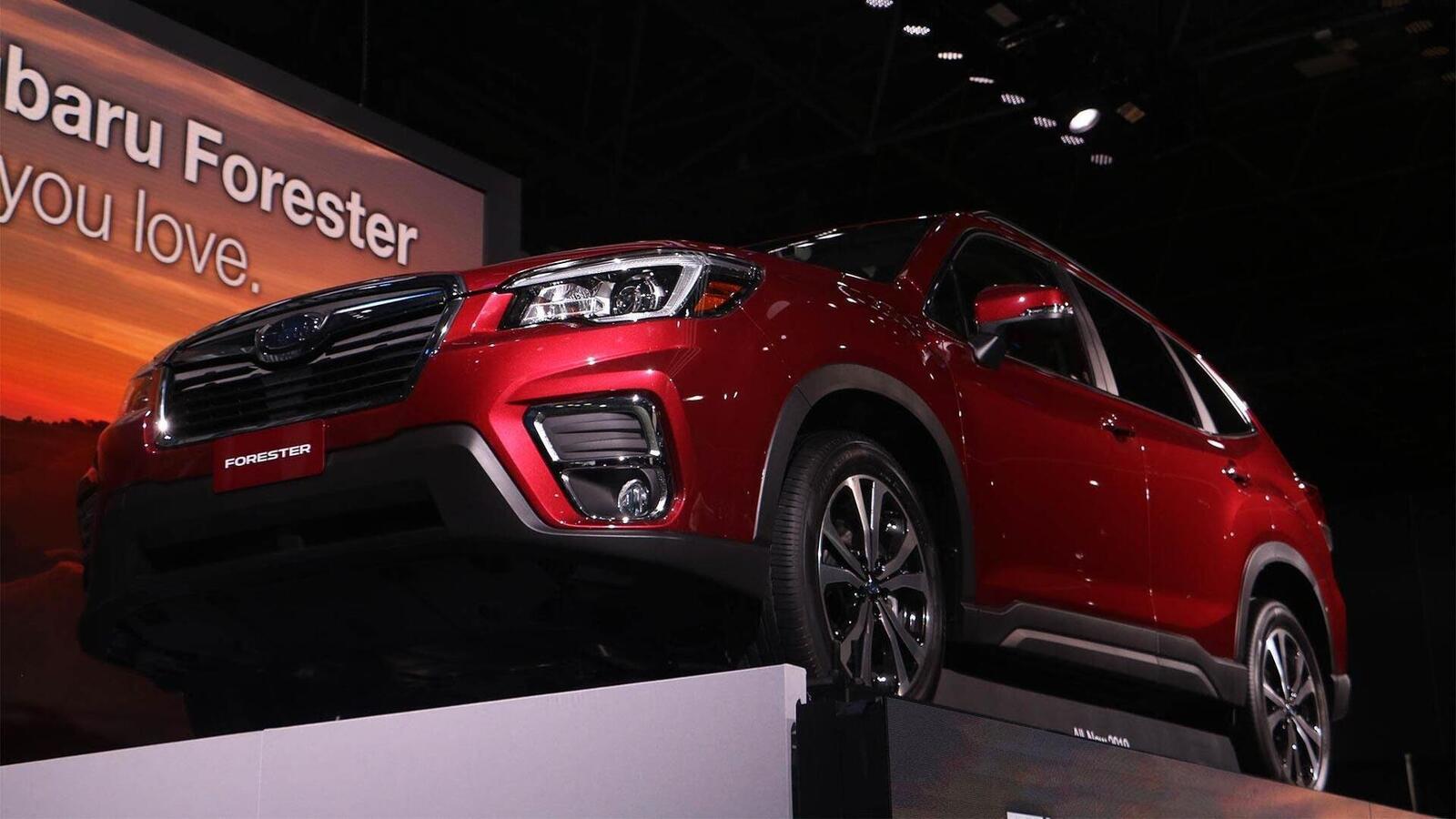 Subaru Forester 2019: Thay đổi nội ngoại thất, động cơ mạnh hơn, thêm nhiều phiên bản - Hình 19