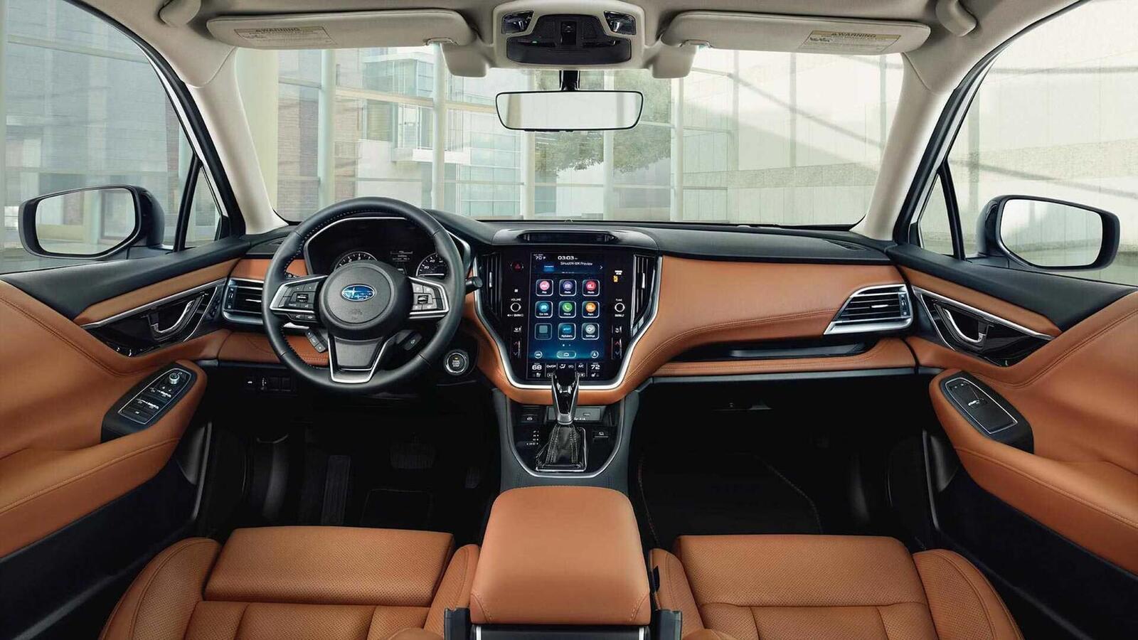 Subaru Legacy thế hệ mới ra mắt; đổi mới thiết kế; có thêm động cơ 2.5L tăng áp - Hình 4